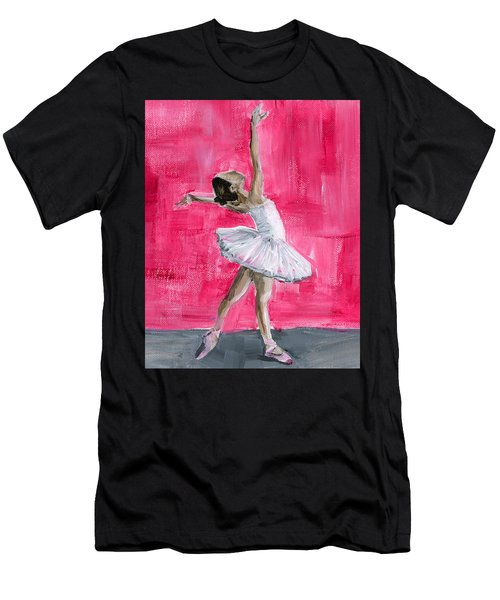 Little Ballerina Men's T-Shirt (Athletic Fit)
