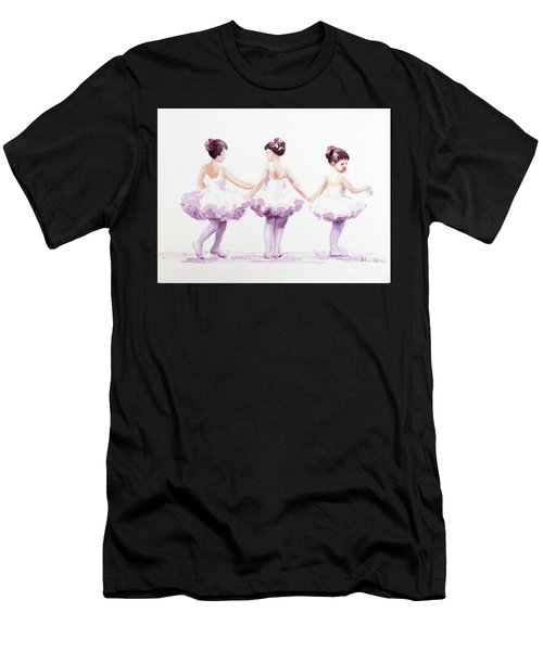 Little Ballerinas-3 Men's T-Shirt (Athletic Fit)