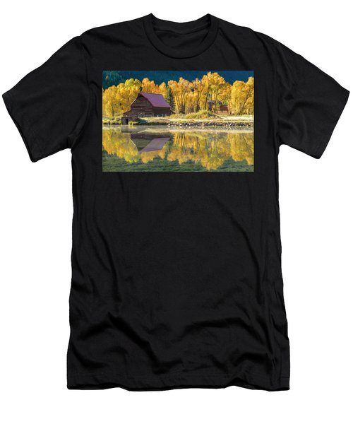 Little Barn By The Lake Men's T-Shirt (Athletic Fit)