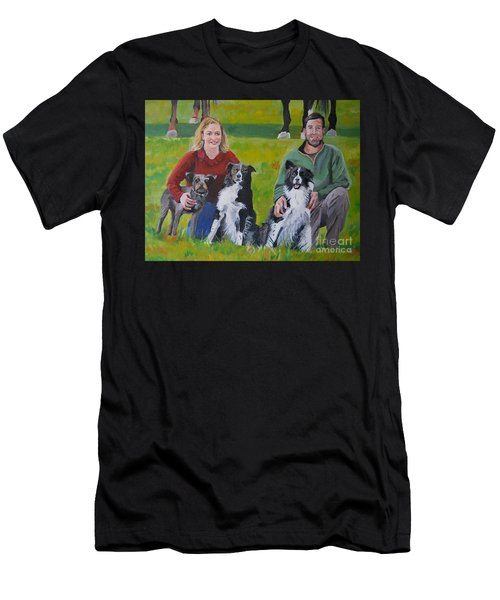 Little Bit's New Family Men's T-Shirt (Athletic Fit)