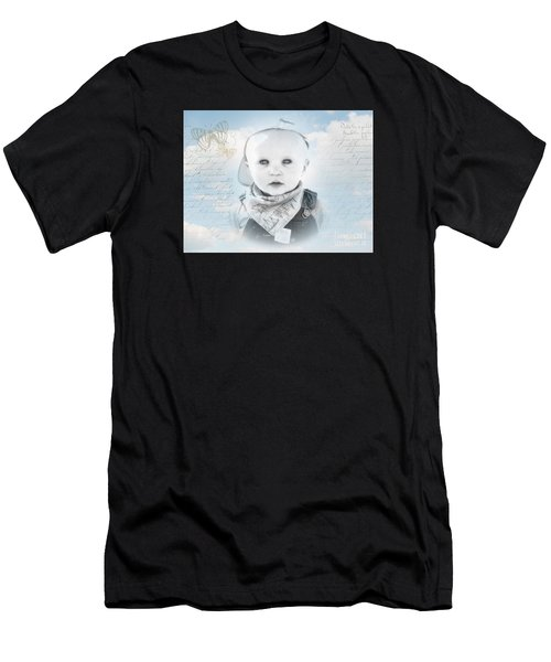 Little Boy Blue Men's T-Shirt (Athletic Fit)