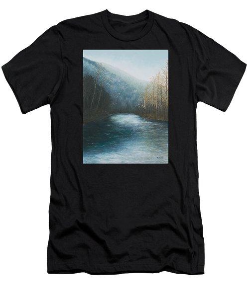 Little Buffalo River Men's T-Shirt (Athletic Fit)