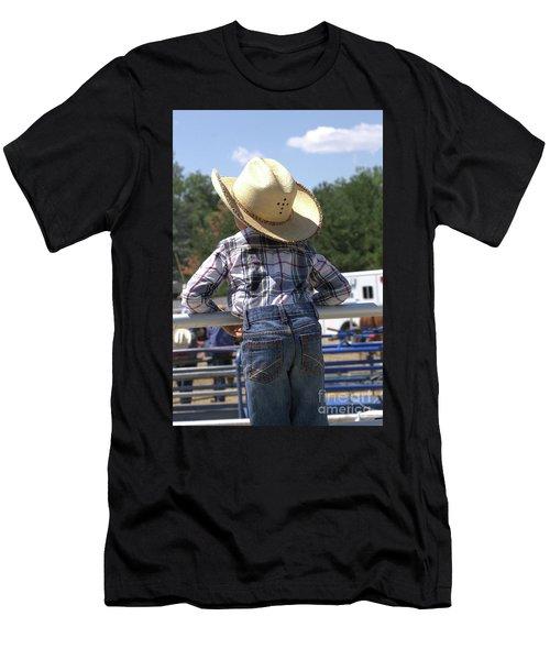 Little Cowboy Men's T-Shirt (Athletic Fit)