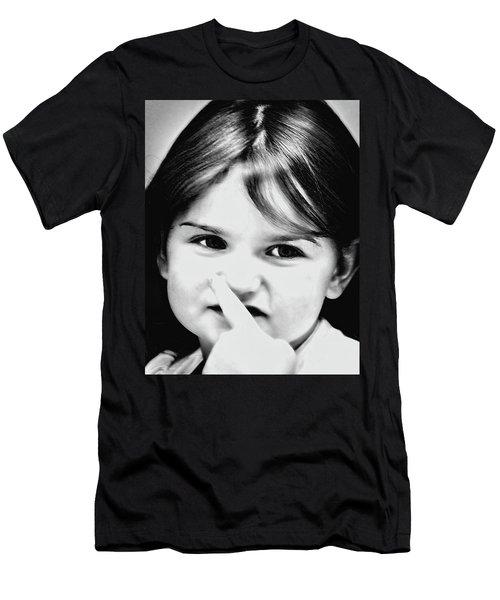 Little Emma Men's T-Shirt (Slim Fit) by Rena Trepanier