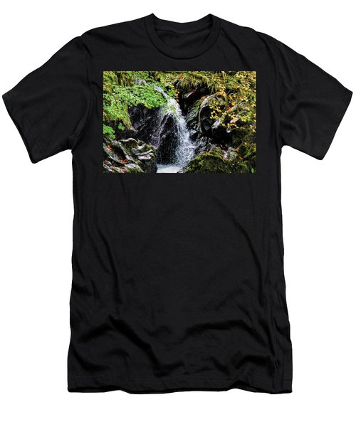 Men's T-Shirt (Athletic Fit) featuring the photograph Little Falls by Michael Hope
