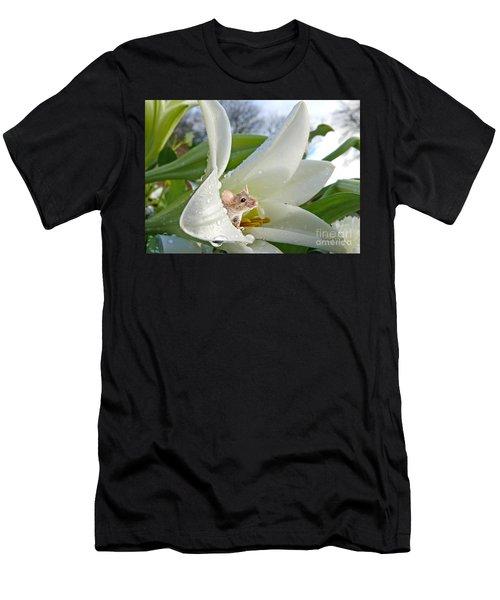 Little Field Mouse Men's T-Shirt (Athletic Fit)