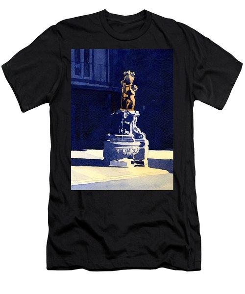 Little Fountain Men's T-Shirt (Athletic Fit)