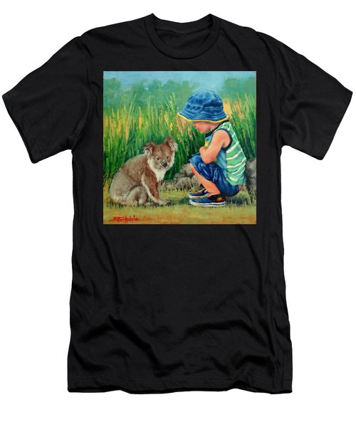 Little Friends Men's T-Shirt (Athletic Fit)