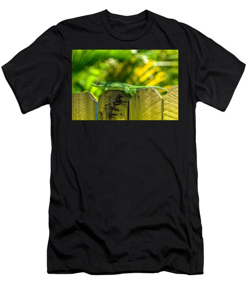 Little Green Visitor Men's T-Shirt (Athletic Fit)