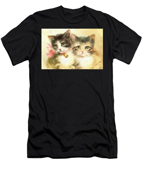 Little Kittens Men's T-Shirt (Athletic Fit)