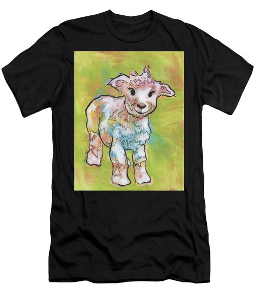 Little Lamb Men's T-Shirt (Athletic Fit)