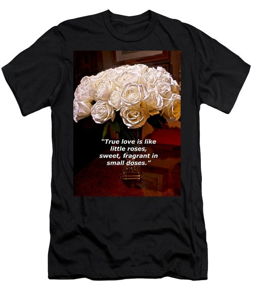 Little Love Roses Men's T-Shirt (Athletic Fit)