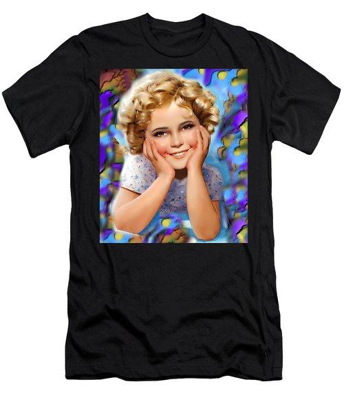 Little Miss Shirley Men's T-Shirt (Athletic Fit)