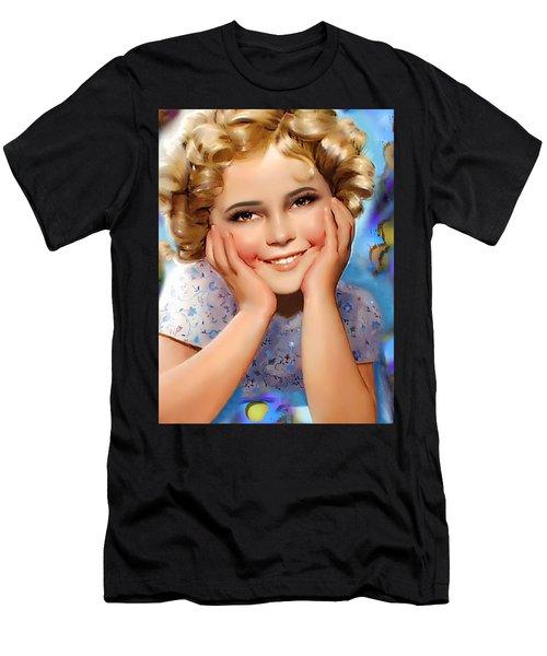 Little Miss Shirley Men's T-Shirt (Slim Fit)