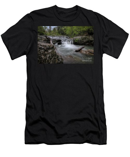 Little Missouri Falls Men's T-Shirt (Athletic Fit)