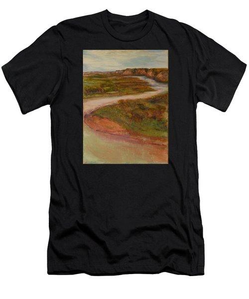 Little Missouri Overlook  Men's T-Shirt (Athletic Fit)