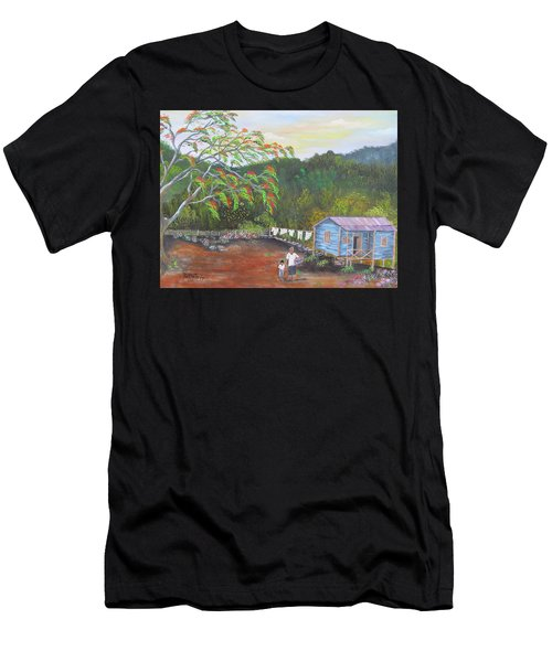 Little Paradise Men's T-Shirt (Athletic Fit)