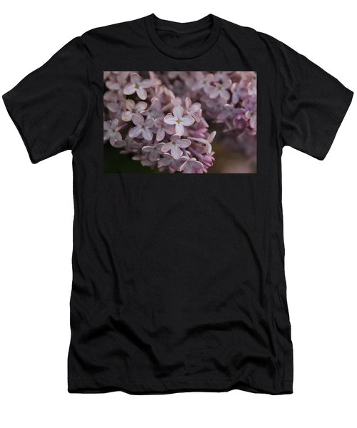Men's T-Shirt (Slim Fit) featuring the photograph Little Pink Stars by Christin Brodie