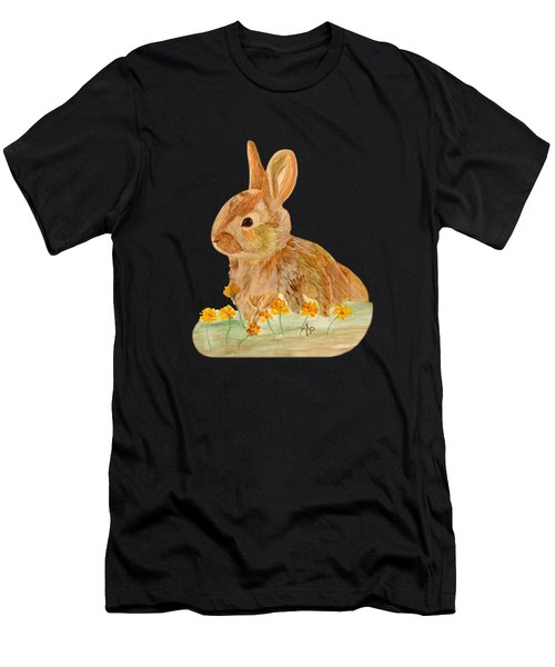 Little Rabbit Men's T-Shirt (Athletic Fit)