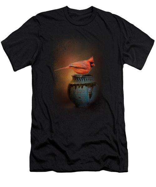 Little Red Guardian Men's T-Shirt (Slim Fit) by Jai Johnson