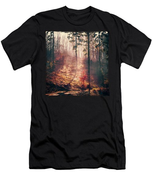 Little Red Tree Men's T-Shirt (Athletic Fit)