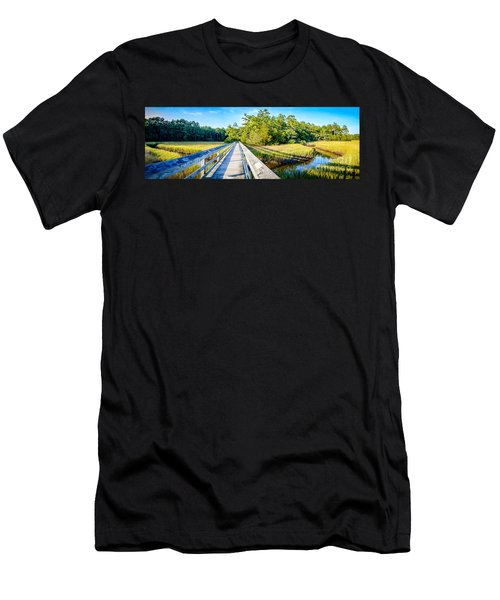 Little River Marsh Men's T-Shirt (Athletic Fit)