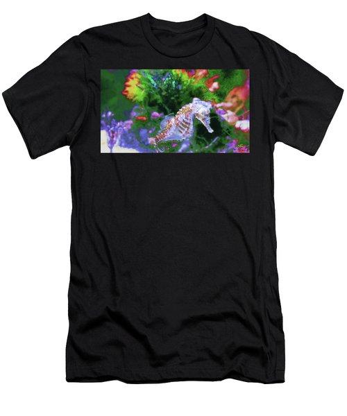 Little Sea Horse Men's T-Shirt (Athletic Fit)