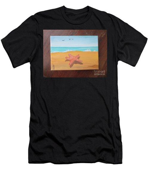Little Star Fish Men's T-Shirt (Athletic Fit)