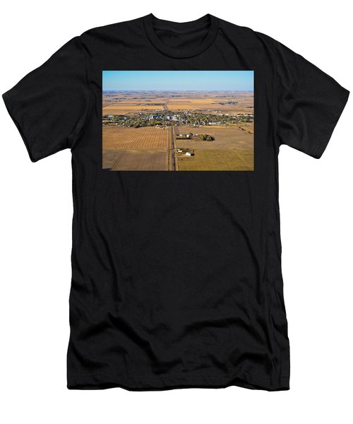 Little Town On The Prairie Men's T-Shirt (Athletic Fit)