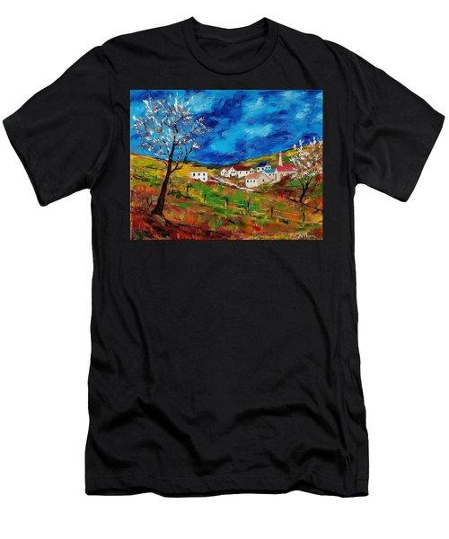 Little Village Men's T-Shirt (Athletic Fit)