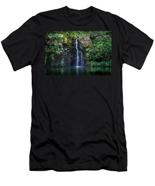 Little Waterfall Men's T-Shirt (Athletic Fit)