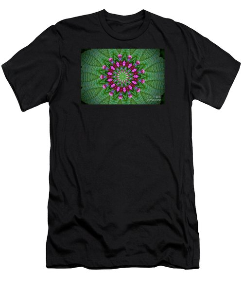 Little Weed Kaliedoscope Men's T-Shirt (Athletic Fit)