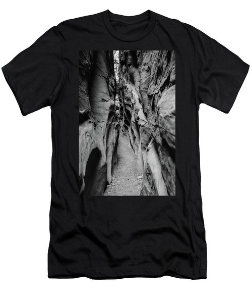 Little Wild Horse Canyon Bw Men's T-Shirt (Athletic Fit)