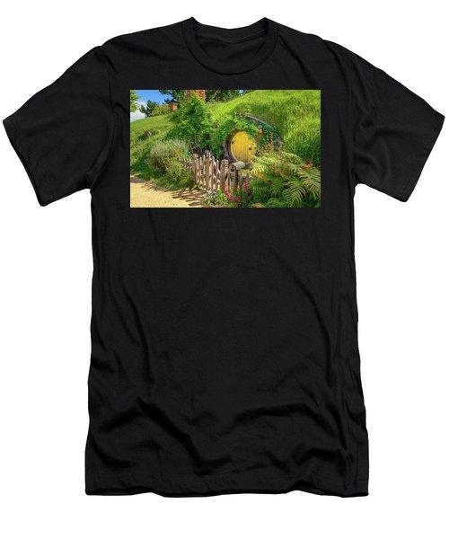Little Yellow Door Men's T-Shirt (Athletic Fit)