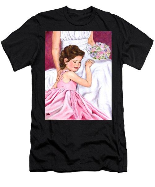 Littlest Wedding Belle Men's T-Shirt (Athletic Fit)