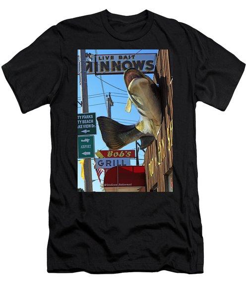 Live Bait Men's T-Shirt (Athletic Fit)