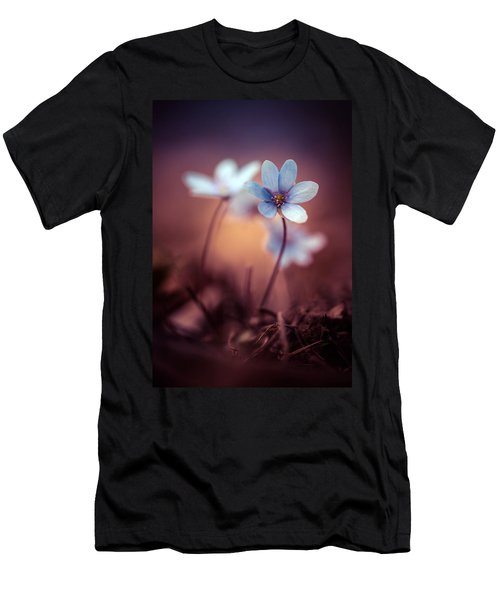 Liverworts Men's T-Shirt (Slim Fit) by Jaroslaw Blaminsky