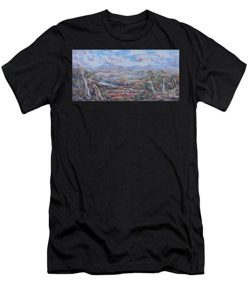 Living Desert Broken Hill Men's T-Shirt (Athletic Fit)