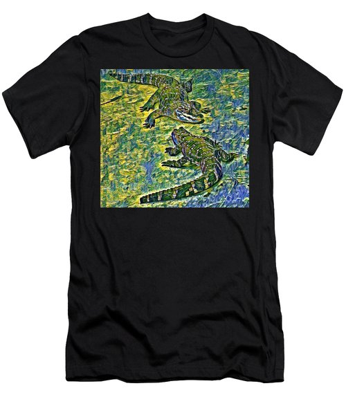 Living Fossils  Men's T-Shirt (Athletic Fit)