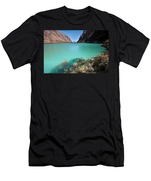 Llanganuco Lakes Men's T-Shirt (Athletic Fit)