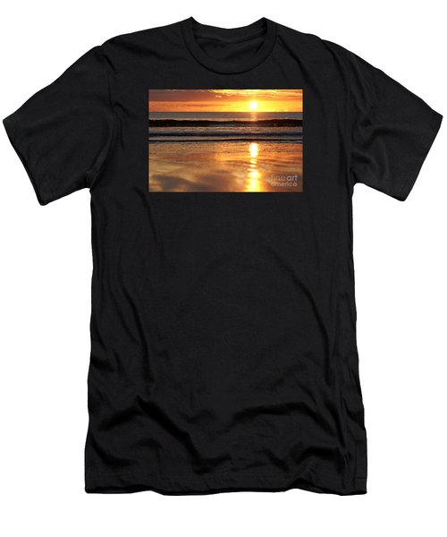 Llangennith Sundown Men's T-Shirt (Athletic Fit)