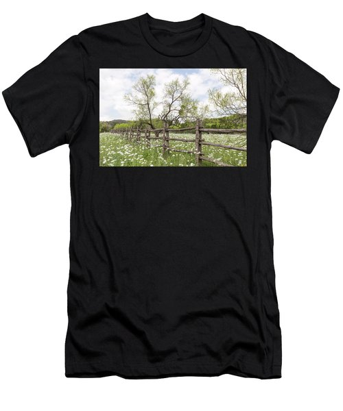 Llano County Wildflowers Men's T-Shirt (Athletic Fit)