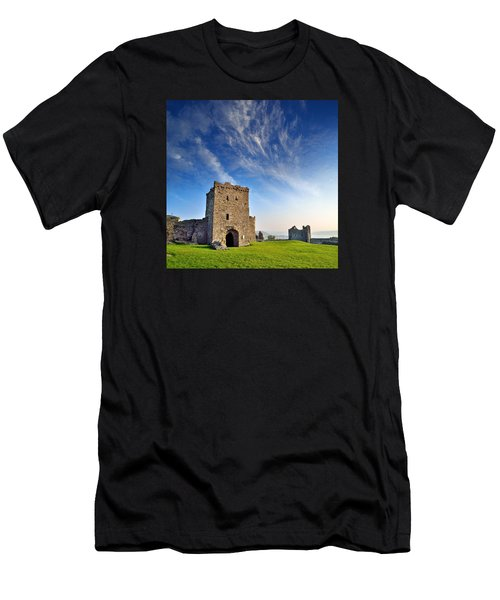 Llansteffan Castle 1 Men's T-Shirt (Athletic Fit)