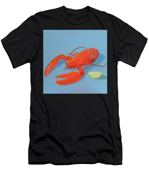 Lobster And Lemon Men's T-Shirt (Athletic Fit)