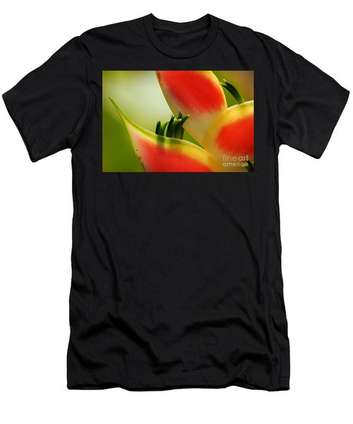 Lobster Claw Flower Men's T-Shirt (Athletic Fit)