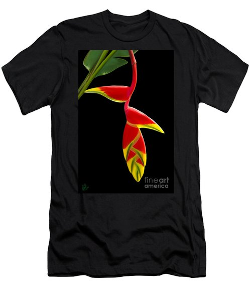 Men's T-Shirt (Slim Fit) featuring the painting Lobster Claw by Rand Herron