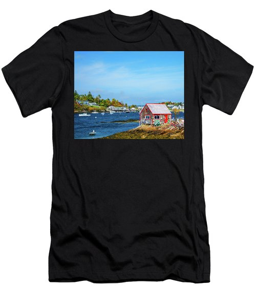 Lobstermen's Shack Men's T-Shirt (Athletic Fit)