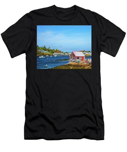Lobstermen's Shack Men's T-Shirt (Athletic Fit)