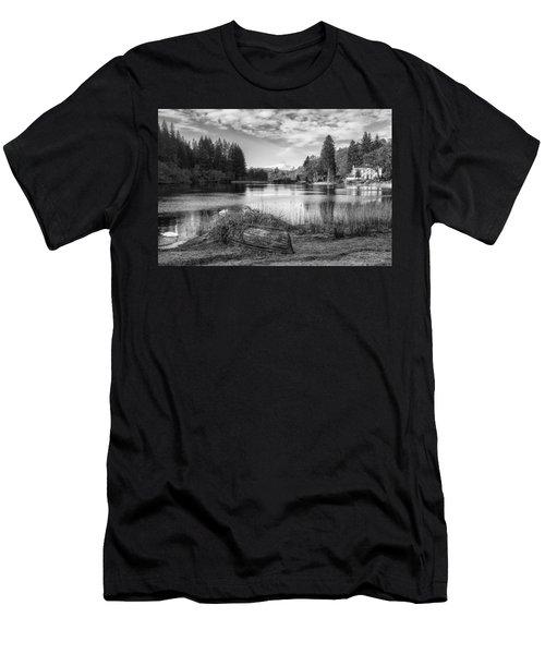 Loch Ard In Aberfoyle Men's T-Shirt (Athletic Fit)