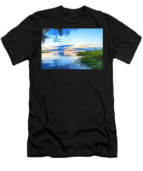 Lochloosa Lake Men's T-Shirt (Athletic Fit)